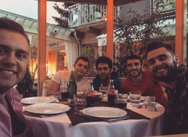 Team Lunch Trip in Sarajevo