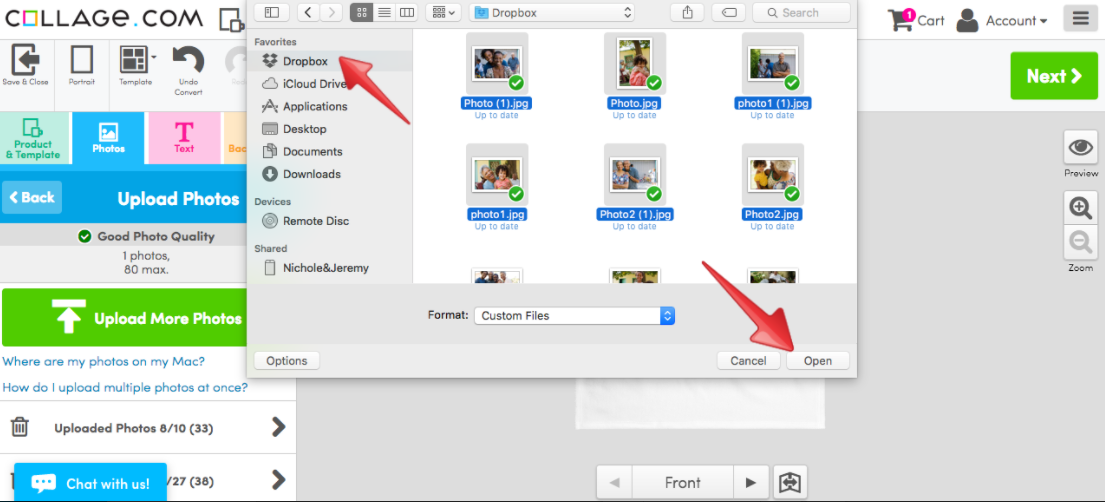 how to delete dropbox from my finder
