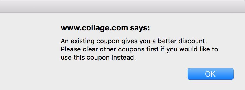 Collage com — How do I redeem my code/deal voucher?