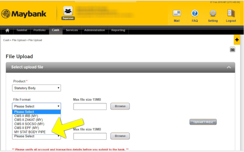 Payrollpanda How To Make Payment Via Maybank