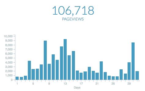 Company Usage - Pageviews