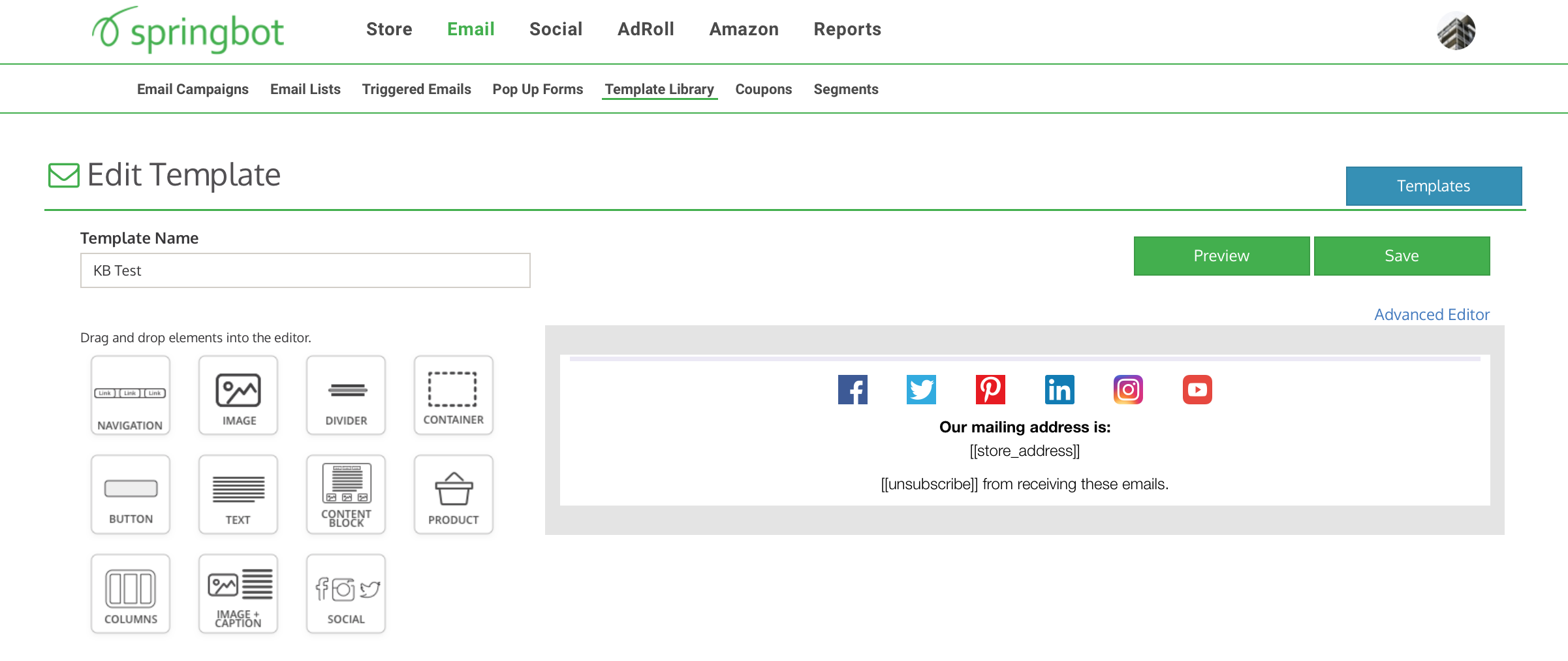 Springbot — How do I Create a Template using Springbot\'s Email ...