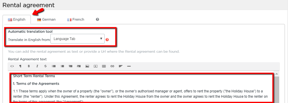 Lodgify add a rental agreement your guest will see the rental agreement in step 3 4 of the check out process to read through the details of the agreement he needs to click rental thecheapjerseys Gallery
