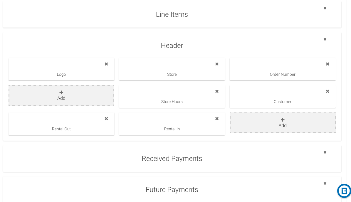 Components  Invoice Builder