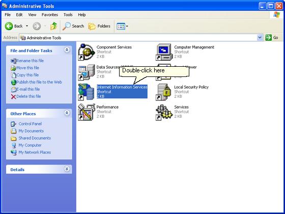 ISL Online — Configuring IIS