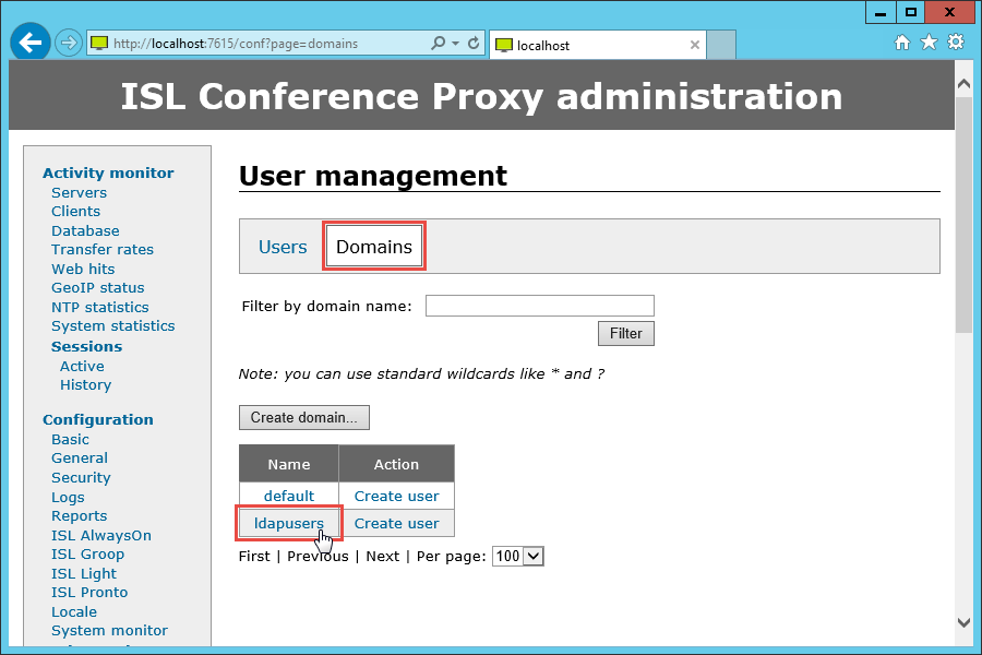 ISL Online — Active Directory Authentication