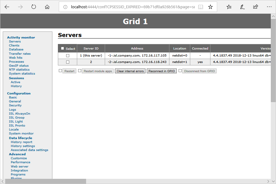 ISL Online — Placing ISL Private cloud behind reverse proxy