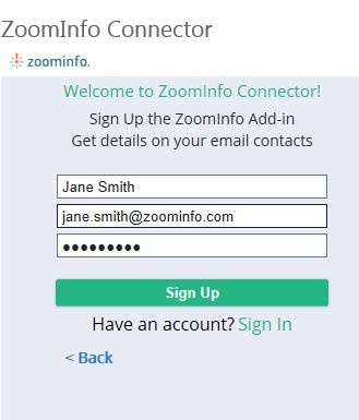 ZoomInfo — Installing and Using ZoomInfo Connector