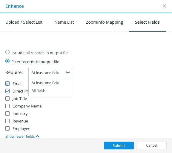 ZoomInfo — Enhance