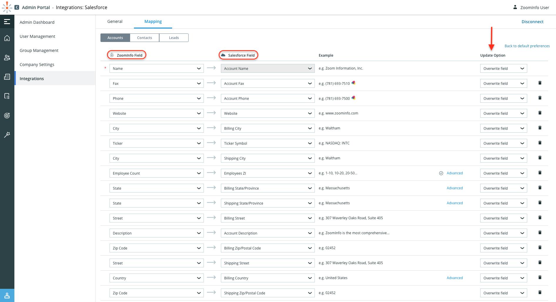 ZoomInfo — Salesforce