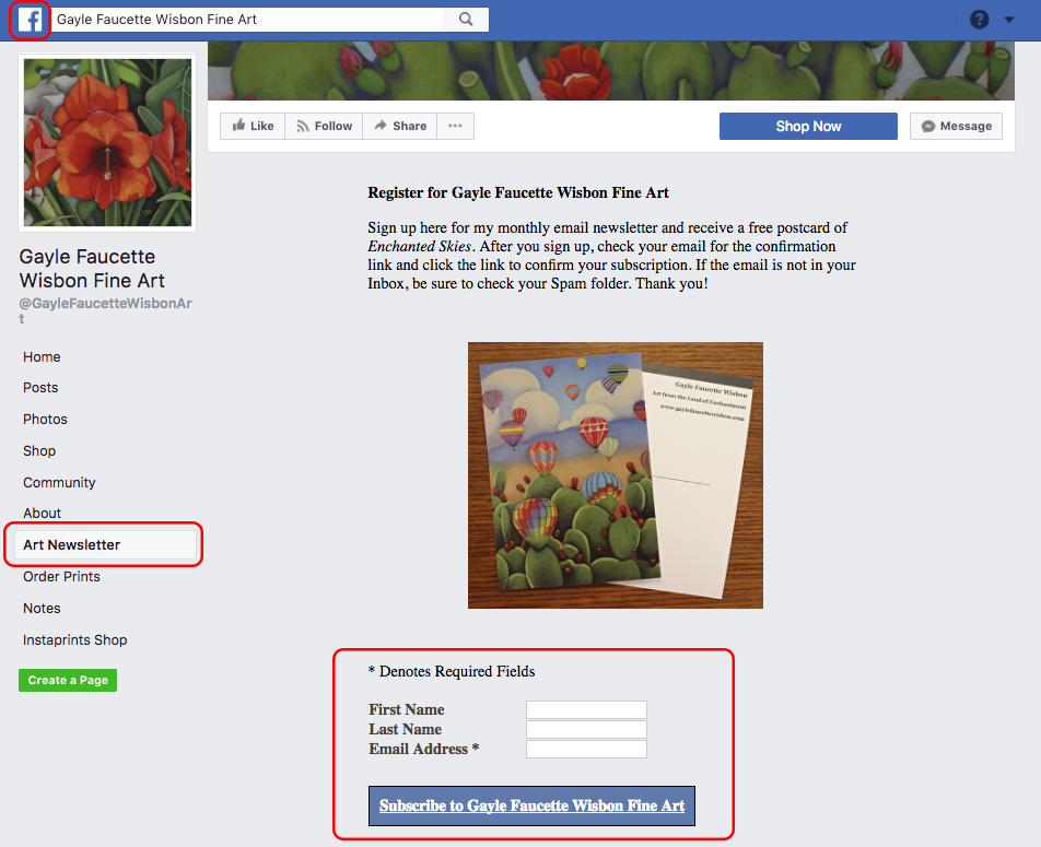BoldBrush — Integrate Your FASO Site with Facebook