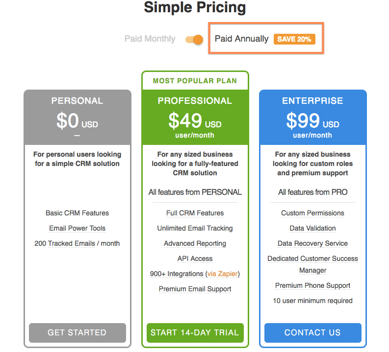 how does pricing work streak support