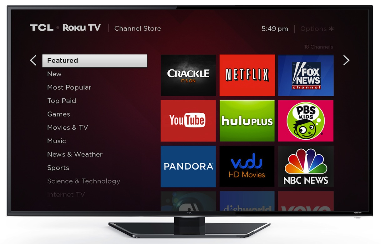 TCLUSA — How to Add Roku Streaming Channels