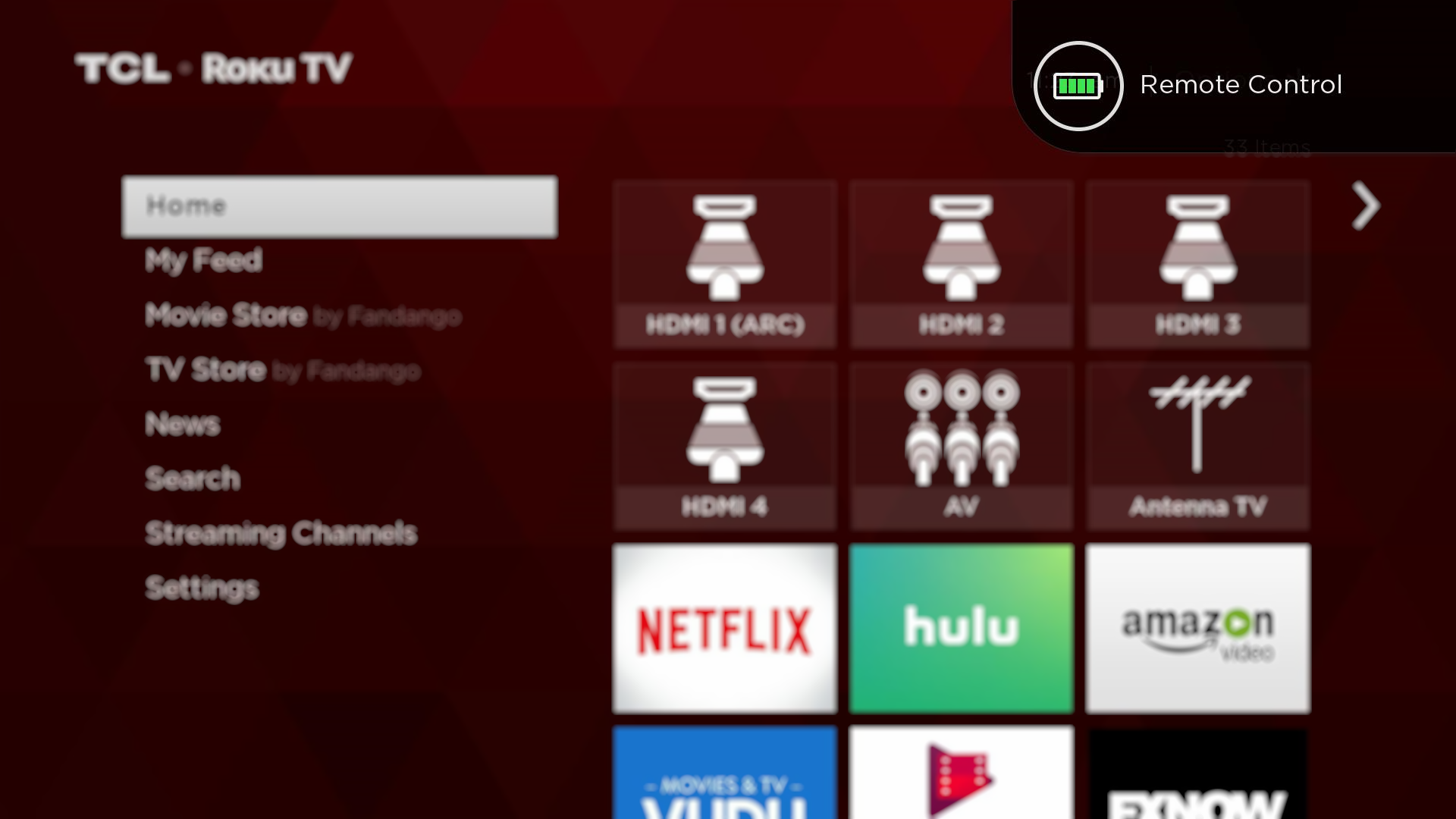 how to connect roku to network without remote