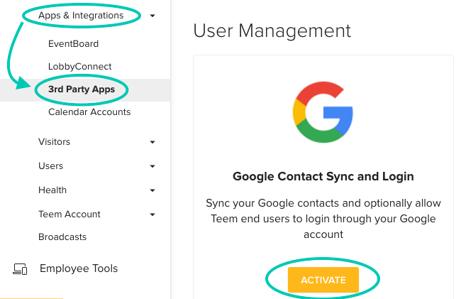 LobbyConnect Apps and Integrations 3 Party Apps