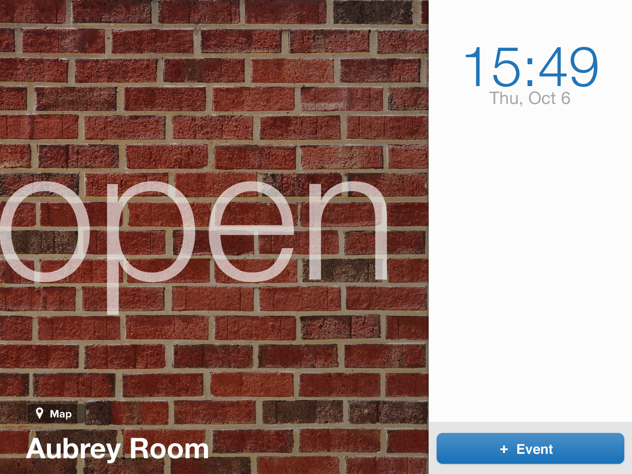 Example of Custom Conference Room Management Theme