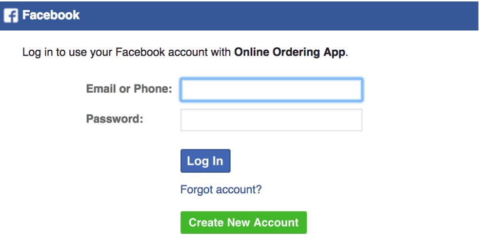 How to publish the menu to your Facebook page 3