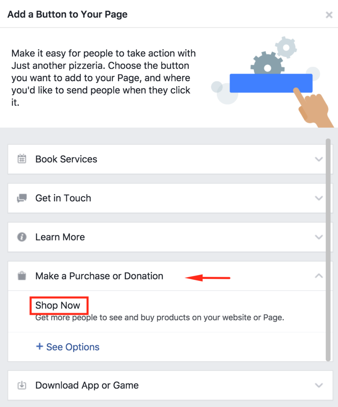 How to publish the menu to your Facebook page 15