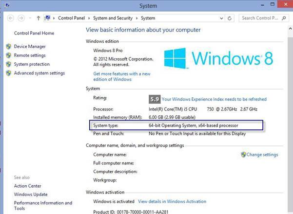 pc system rating windows 10