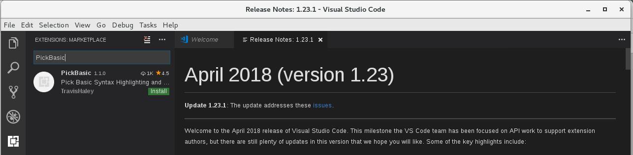 jBASE — VISUAL STUDIO CODE PICK BASIC EXTENSION