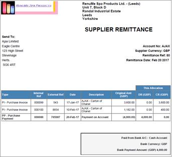 AccountsIQ — How do I Process Supplier (Vendor) Payments and