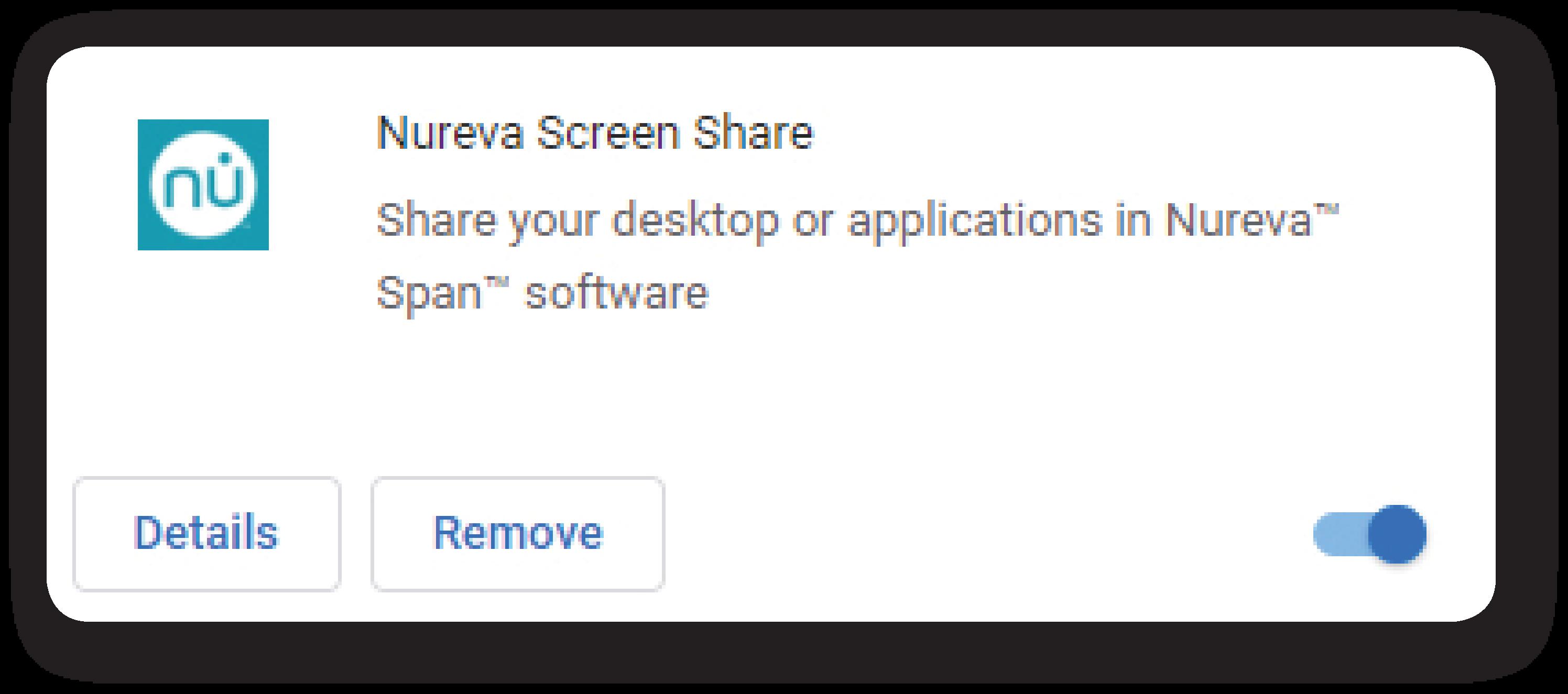 Nureva — Screen share troubleshooting