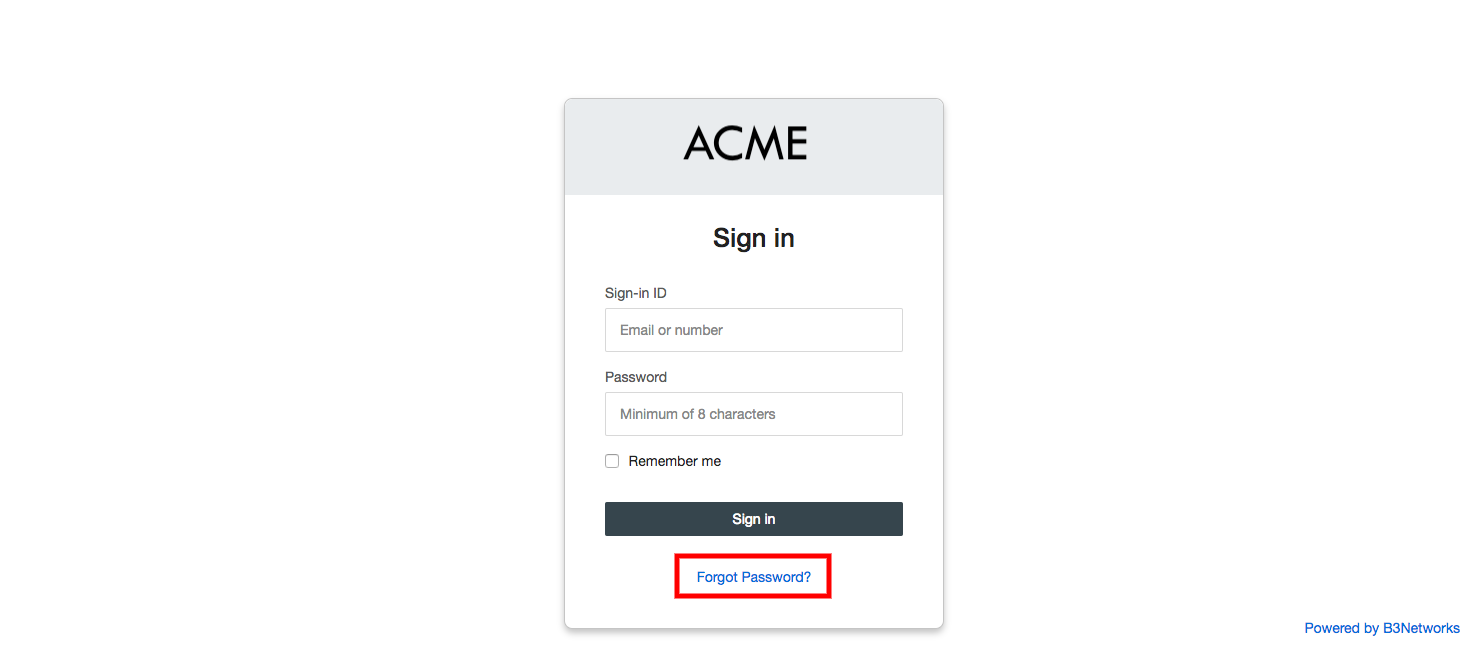 Forgot Username and/or Password - Knowledge Base