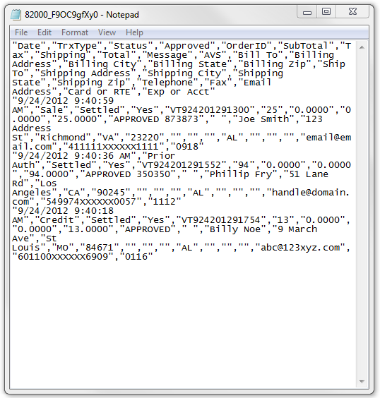 How to read the text file in the batch close emails  - Paya