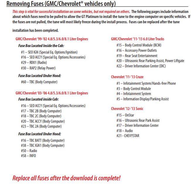 Derive — 357/358 Error on GM Vehicles