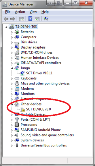 Derive — Where do I find the Device Updater?