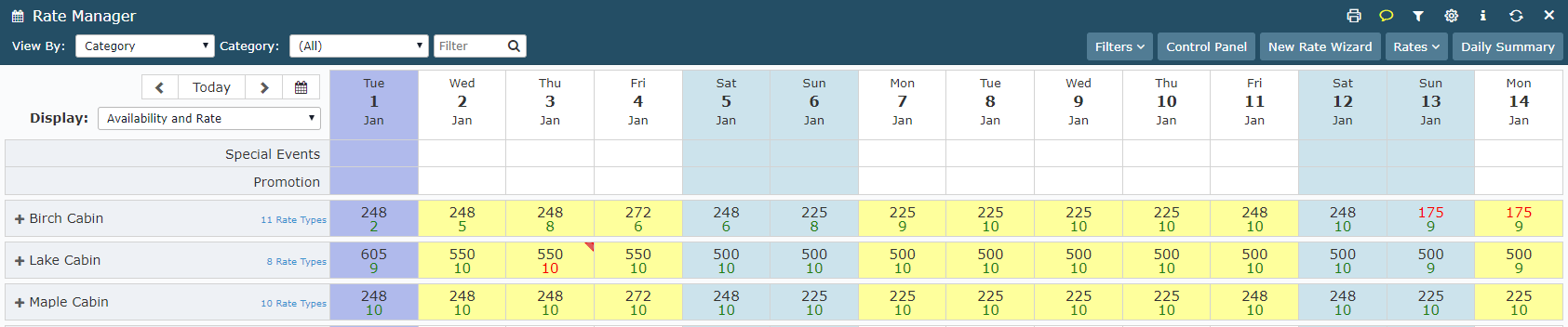 Add Dynamic Pricing by Time to a Rate Table with Dynamic