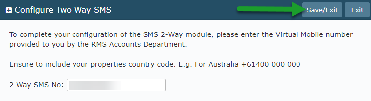 Activating 2-Way SMS in RMS — RMS Help Centre