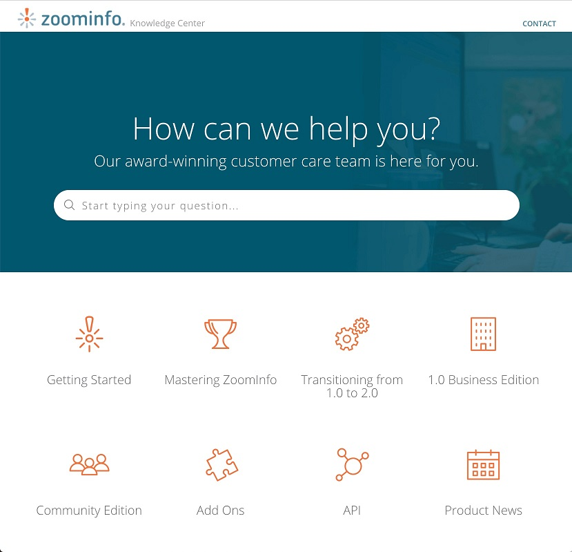 ZoomInfo Knowledge Base Example