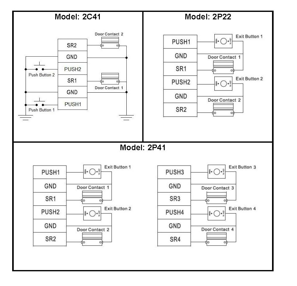 door contact and exit button wiring diagram cornick garage door sensor wiring diagram door contact wiring diagram #10