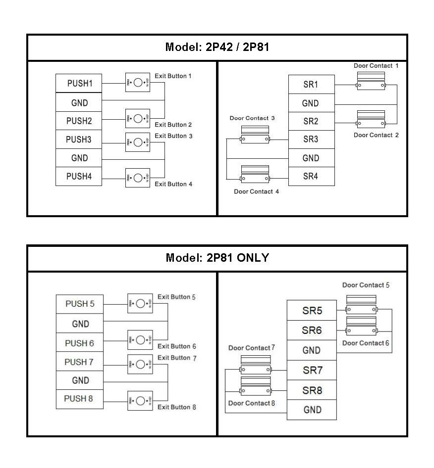 contact wire diagram door contact and exit button wiring diagram cornick  exit button wiring diagram