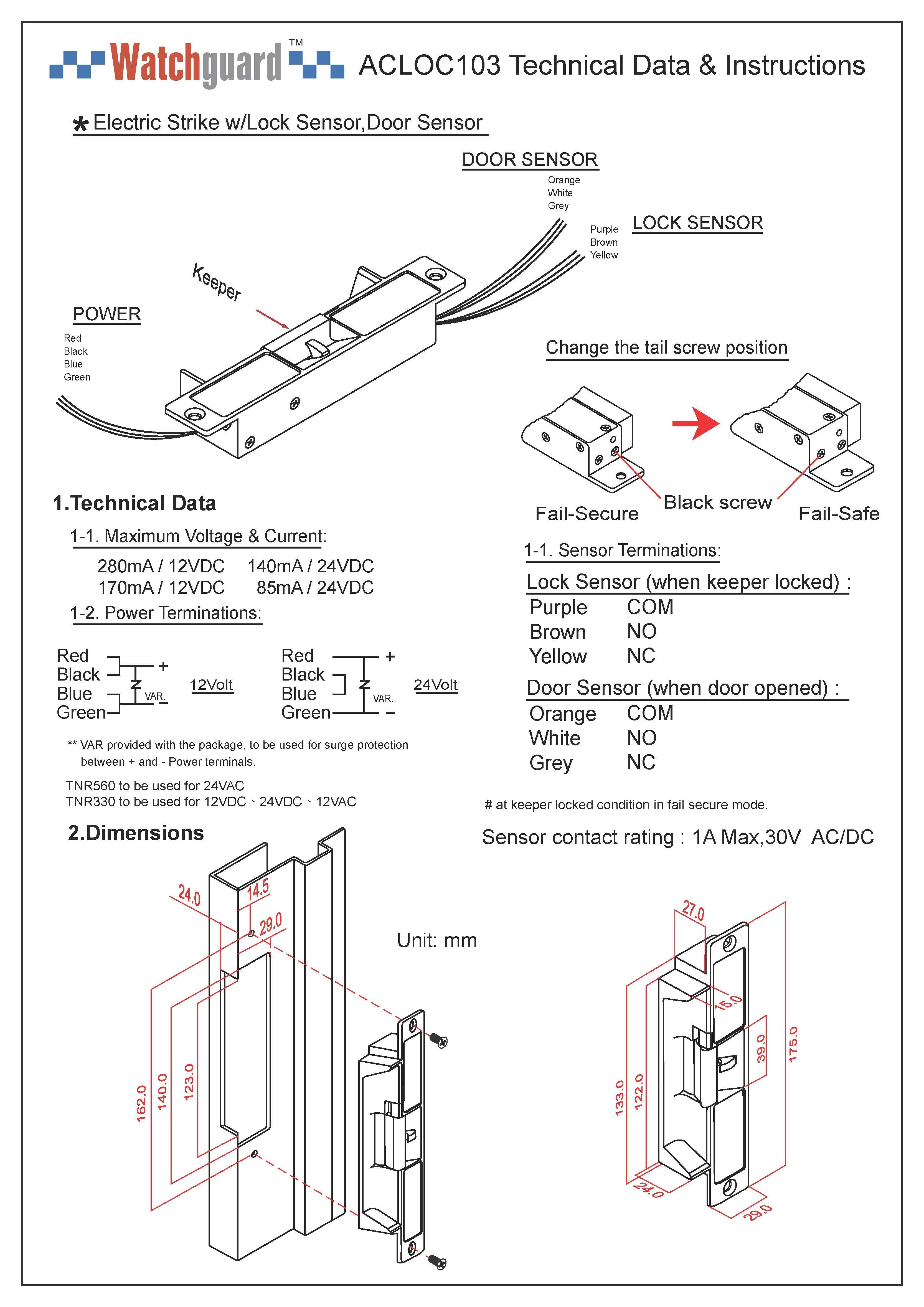 Electric Door Strike Wiring Diagram Database