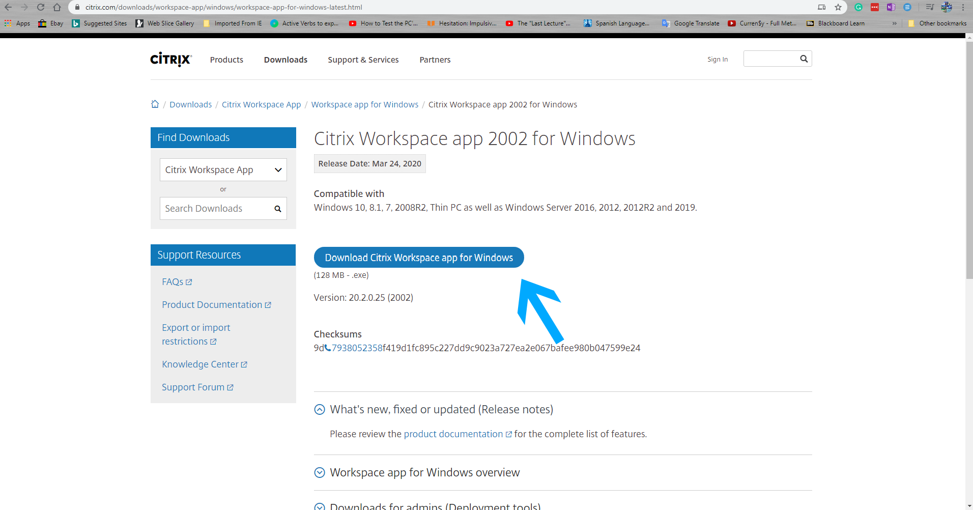 View Workspace Citrix Download Windows Background