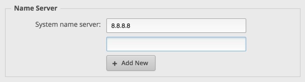 Configure DNS on the EdgeRouter Lite - Pilot