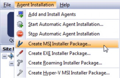 Create installer package