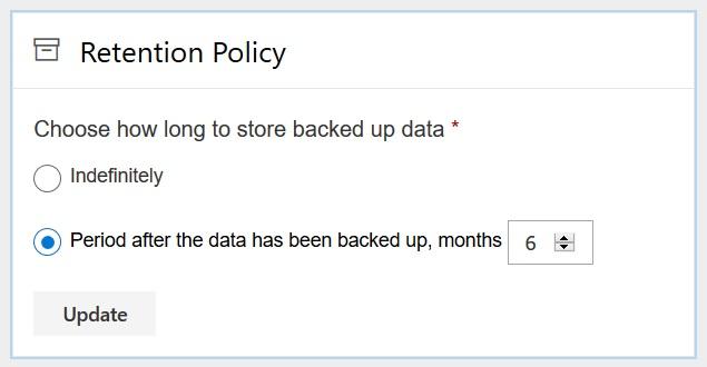 Office 365 Retention Spinbackup