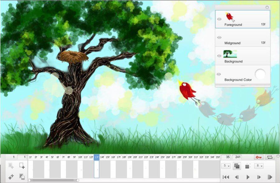 create flipbooks in Sketchbook Pro