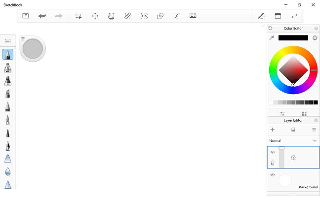 Sketchbook Pro for Windows 10