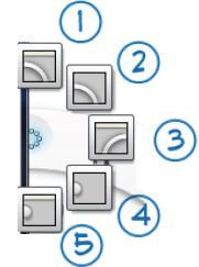Interface Controls found in the Sketchbook Pro lagoon