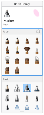 Rearranging brush sets 2