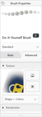 Texture icon in Sketchbook for Windows 10