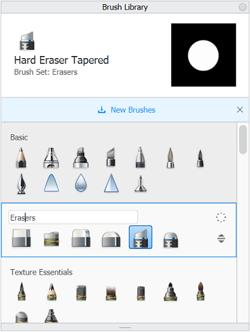 Created Eraser pack