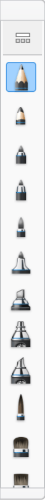 Brush Palette in Sketchbook for Windows 10