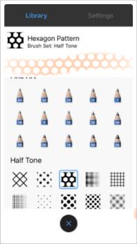 Custom Brushes in the 64-bit iPhone version of Sketchbook
