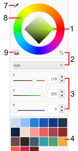 Default Color Editor