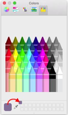 customized color palette
